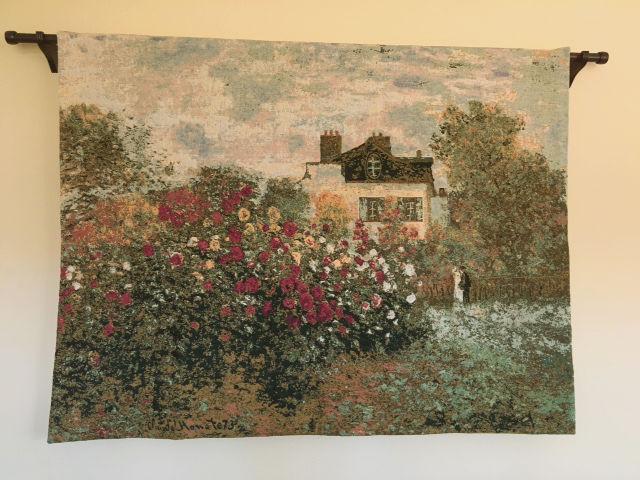 La Maison de Claude Monet tapestry