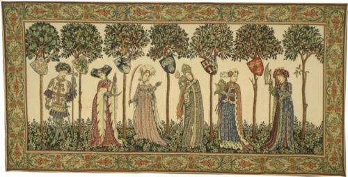 La Manta tapestry - Nine Worthies