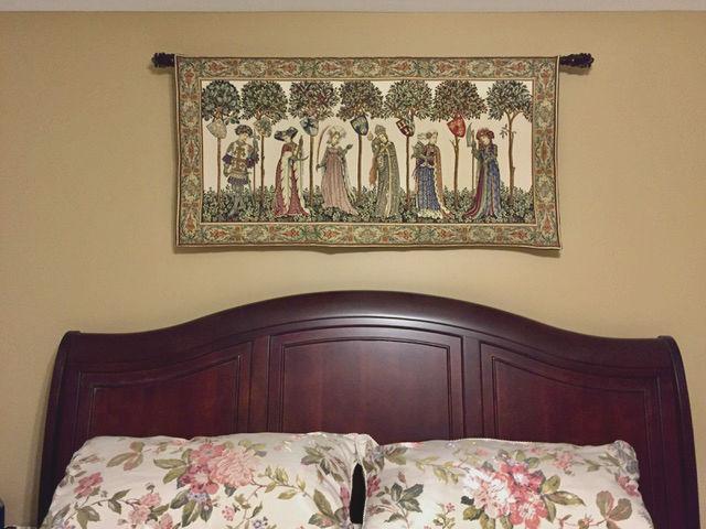 La Manta tapestry hanging