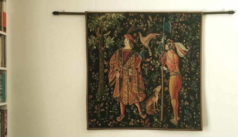 La tenture de la Vie Seigneuriale tapestries