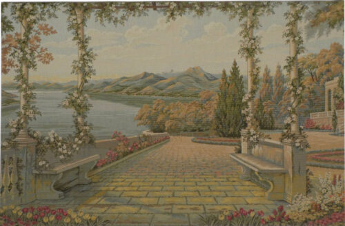 Lake and Terrace tapestry special - Lake Como tapestries
