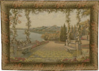 Lake and Terrace wall tapestry - Lake Como - Villa d'Este tapestries