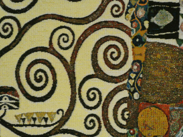 Gustav Klimt Stoclet Frieze tapestries
