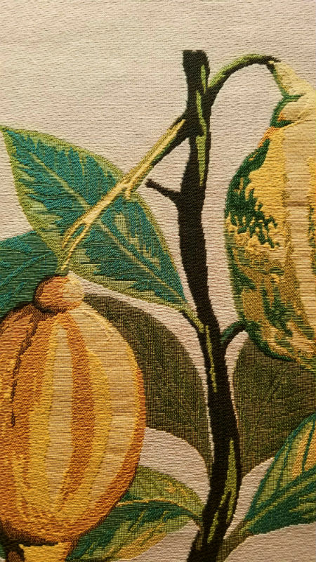 Lemon square tablecloth - Redoute wall tapestries