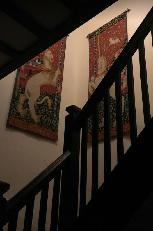 Rampant Unicorn Tapestry Cluny Museum French Tapestries