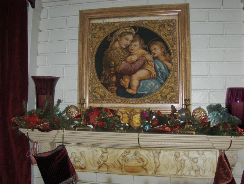 Madonna della Seggiola tapestry - Raphael tapestries