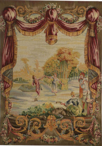 May Dance tapestry - sale wall tapestries - wool and cotton