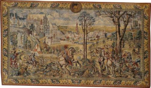 Medieval Brussels tapestry - Emperor Charles V tapestries