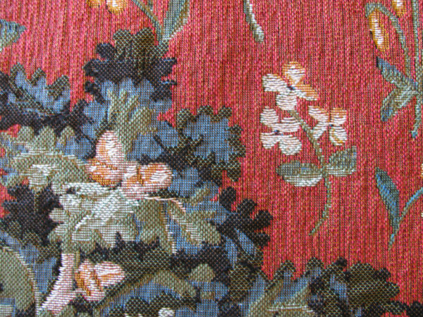 Lady with the Unicorn tapestries - oak tree tapestry detail