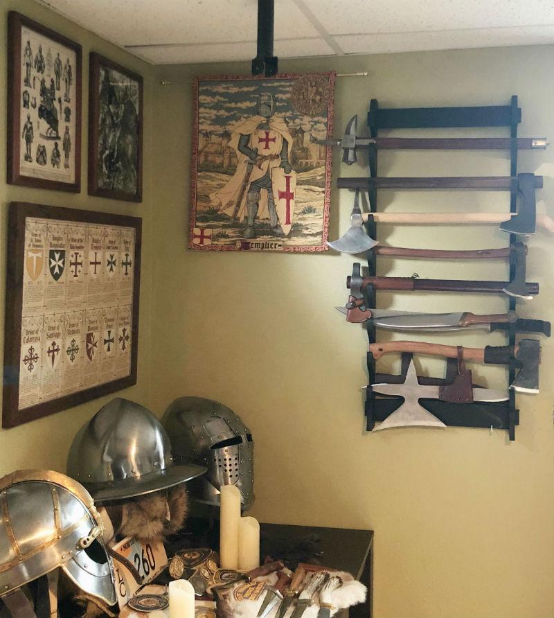 Medieval knights tapestries - Knights Templar tapestry