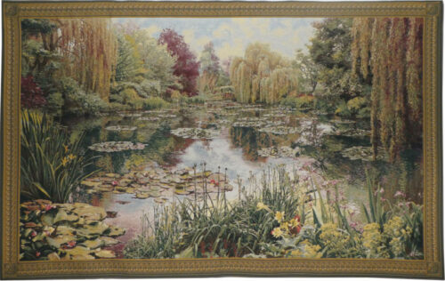 Monet's Garden tapestry 1 - Claude Monet wall tapestries