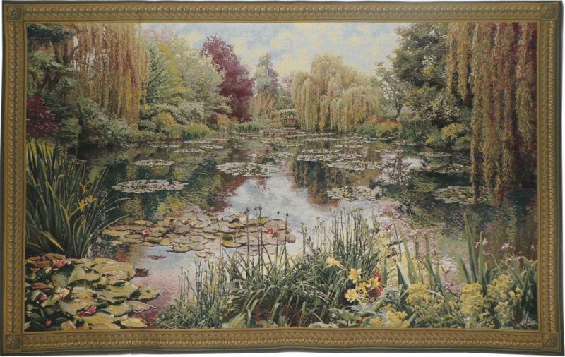 Monet's Garden tapestry 1 - Claude Monet wall tapestries