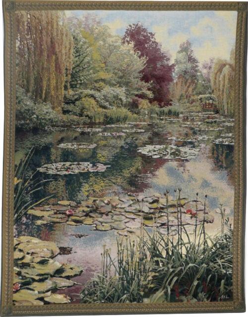 Monet's Garden tapestry 2 - Belgian wall tapestries