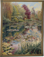 Monet's Garden tapestry 2 - Belgian wall tapestries