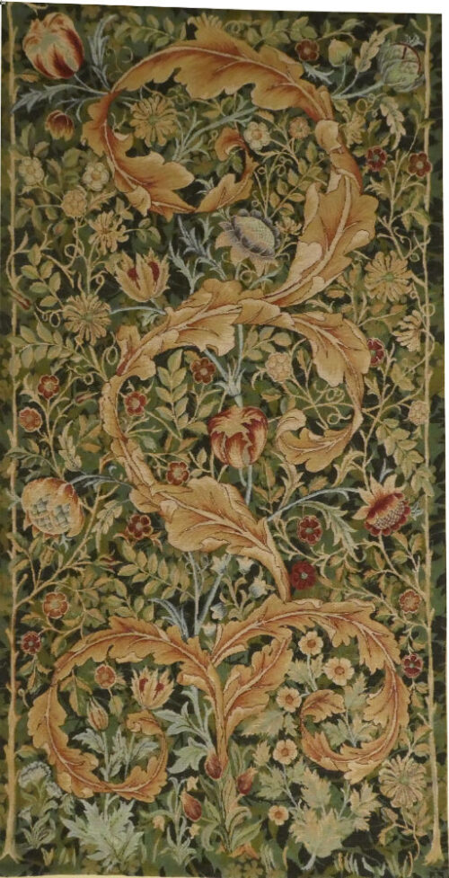 Morris Portiere, medium, green - tapestry wall-hanging