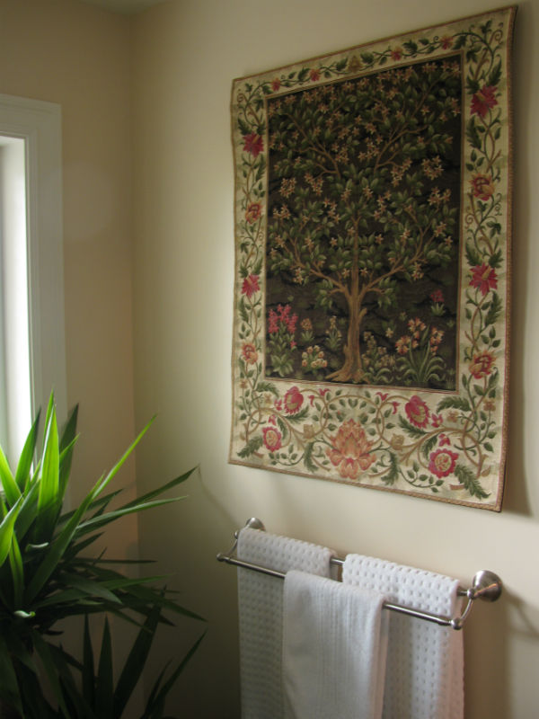 Morris Tree of Life wall tapestry