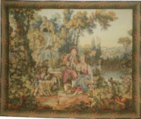 Musical Interlude tapestry - Francois Boucher tapestries