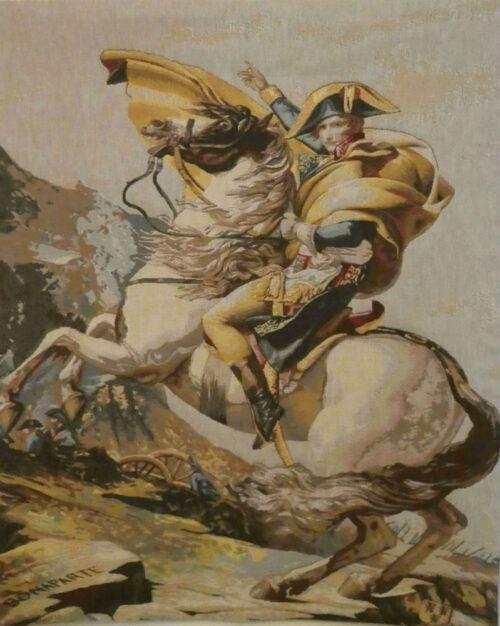 Napoleon Bonaparte tapestry Napoleon Crossing the Alps