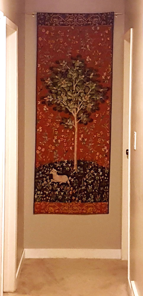 Oak tree from the Lady with the Unicorn tapestries