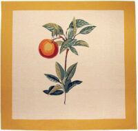 Orange square tapestry - Redoute wall tapestries - tablecloth