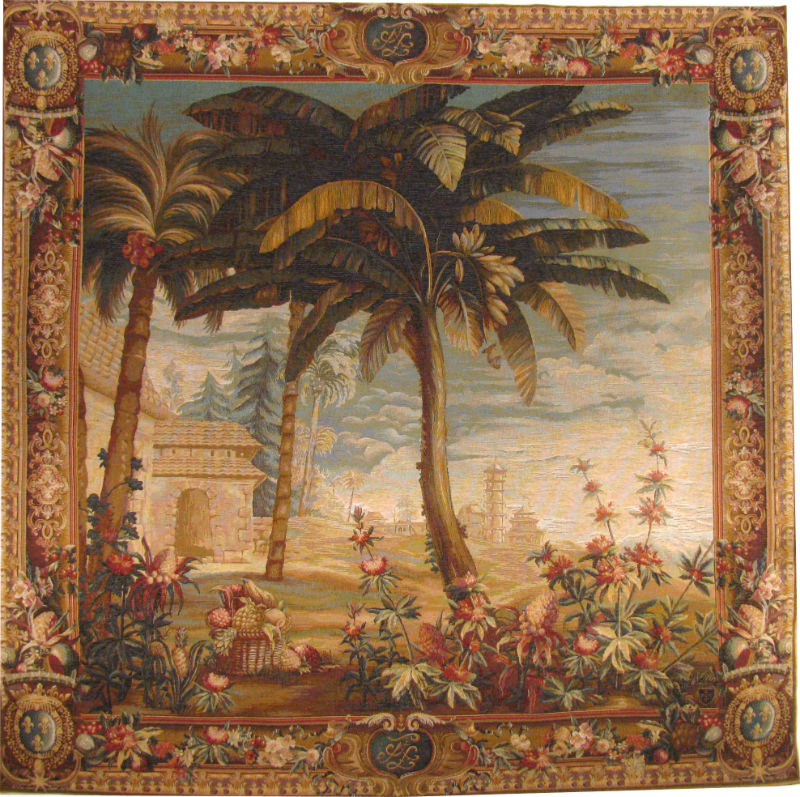 The Pineapple Harvest - History of the Chinese Emperor tapestries