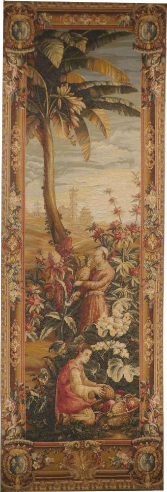 Pineapple Harvest - right tapestry Harvesting of Pineapples