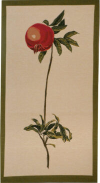 Pomegranate tapestry - Redoute art tapestries - botanical wall art
