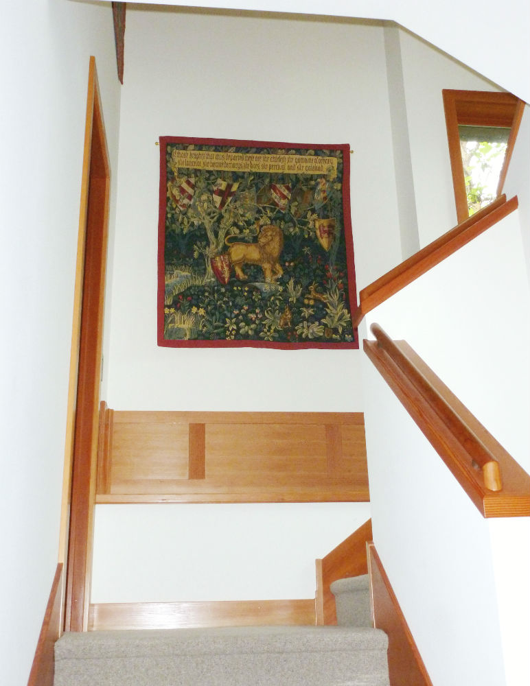 Quest for the Holy Grail tapestries - The Lion