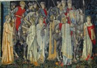 Quest for the Holy Grail tapestry