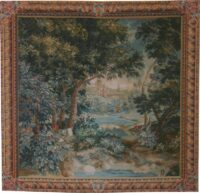 18th Century Verdure - French tapestry wall hanging