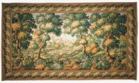Verdure Audenarde - French tapestry wall hanging