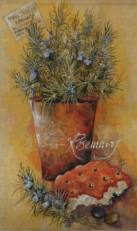 Rosemary tapestry - contemporary wall hanging tapestries