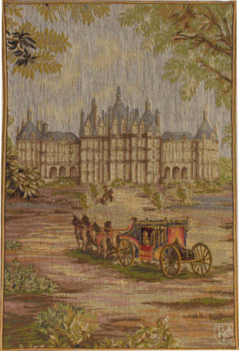 Royal Palace - detail - French tapestry wallhanging