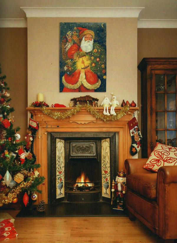 Saint Nicolas de Bari - Father Christmas tapestry