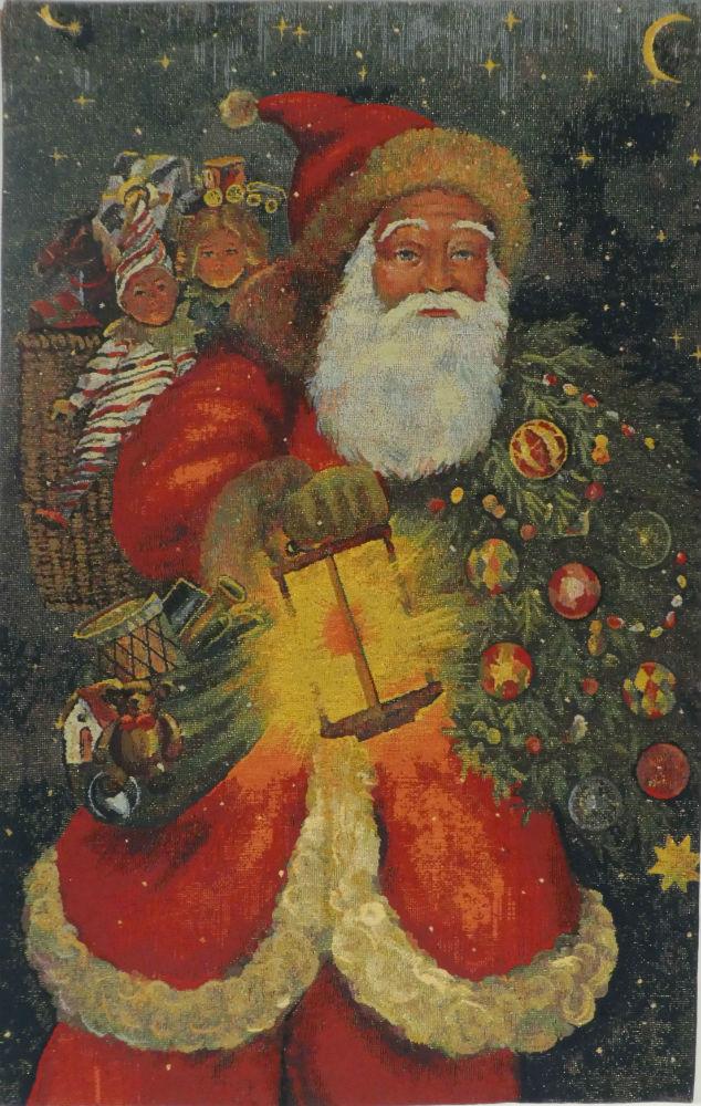 Santa Claus tapestry - Saint Nicolas de Bari - Father Christmas