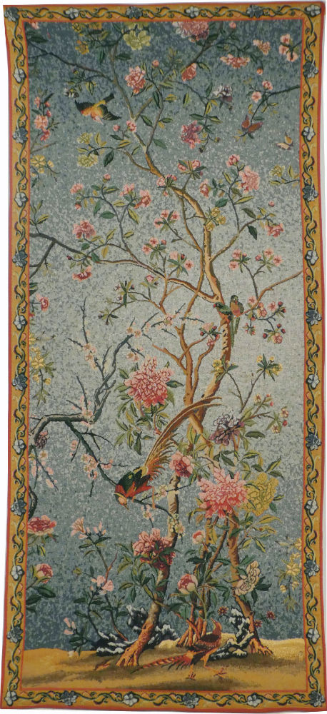 Spring Blossom tapestry - Belgian wall hanging tapestries