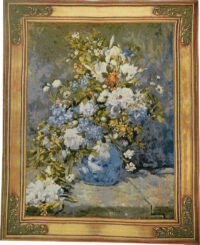 Spring Bouquet tapestry - Renoir Belgian wall tapestries