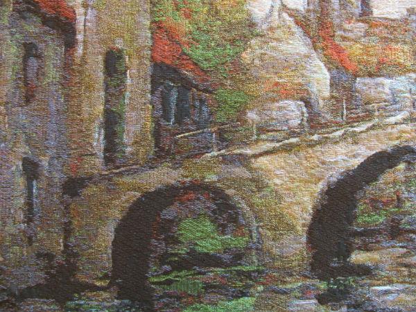 Tapestry of Bruges - Lake of Love detail