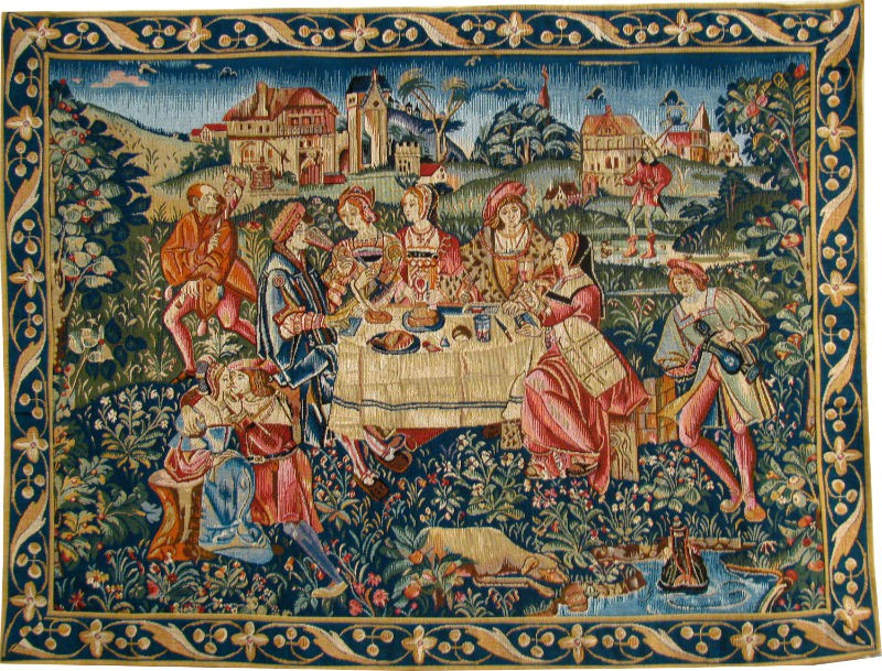 the idea of banqueting is ancient
