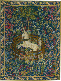 The Captive Unicorn tapestry - French unicorn tapestries