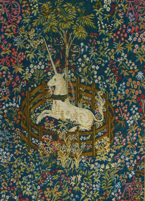 The Captive Unicorn tapestry - Metropolitan Cloisters