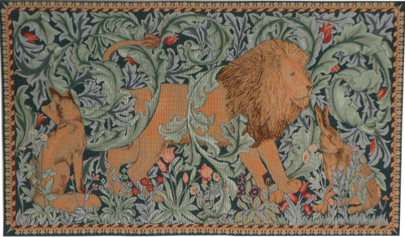 The Forest tapestry - The Lion - Philip Webb