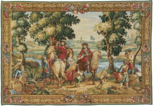 The History of the King tapestry - Louis XIV tapestries - Charles le Brun