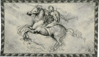 The Horseman tapestry - discontinued tapestry on sale