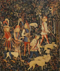 The Hunt of the Unicorn tapestry - medieval tapestries