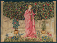 The Minstrel - Morris and Co tapestry wallhangings