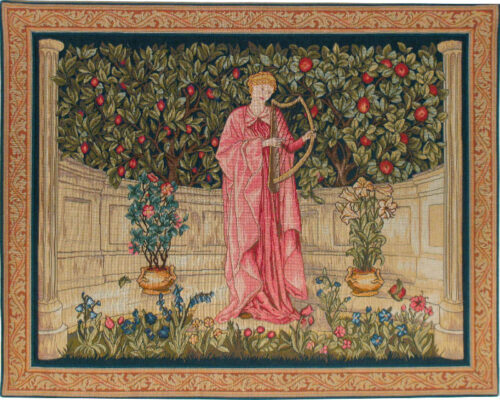 The Minstrel tapestry - Morris and Co tapestries designs