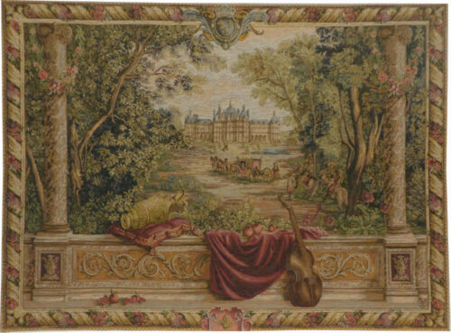 The Royal Palace tapestry - Chateau of Chambord tapestries
