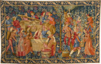 The Vintage tapestry - medieval vendange tapestries