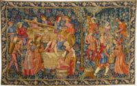 The Vintage tapestry - medieval vendange tapestries